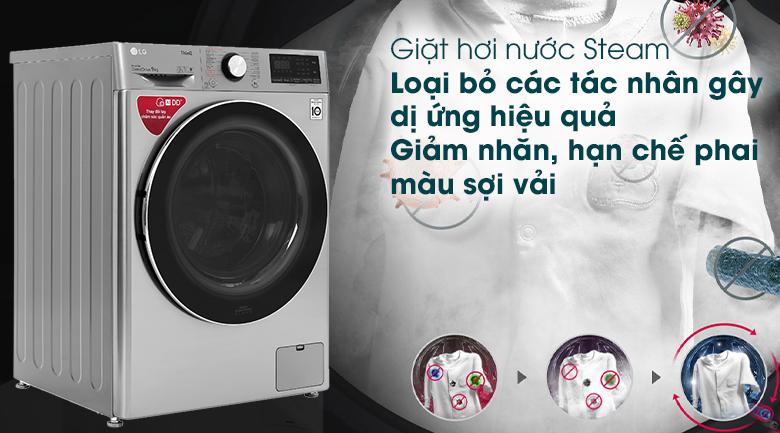 Máy giặt LG Inverter 9 kg (FV1409S2V)