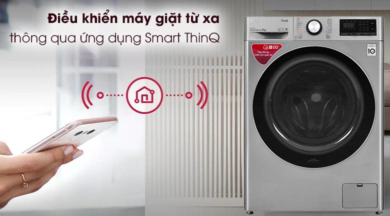 Máy giặt LG Inverter 9 kg (FV1409S2V) chất lượng tốt