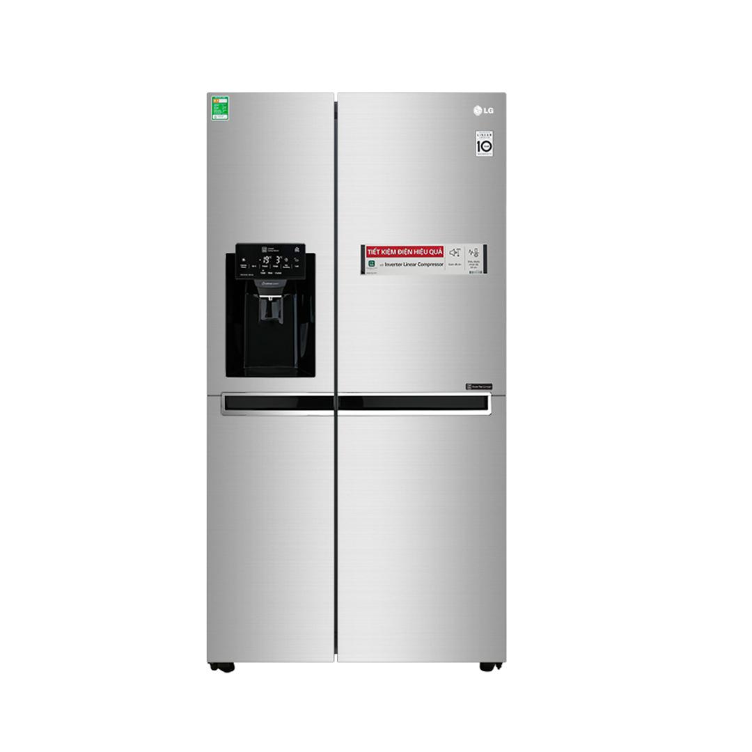 Tủ lạnh LG Inverter 601 Lít (GR-D247JDS) (2 cánh)